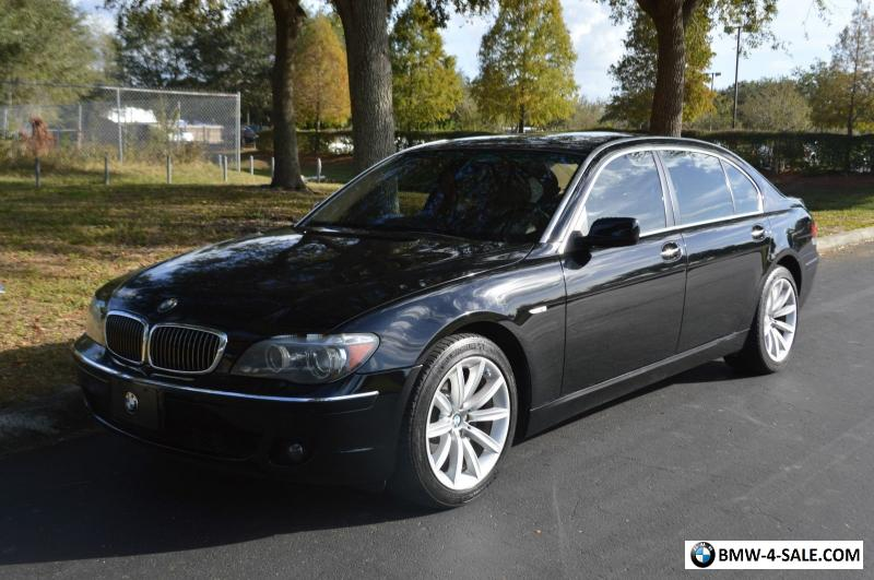 2008 Bmw 7 Series 750li For Sale In United States