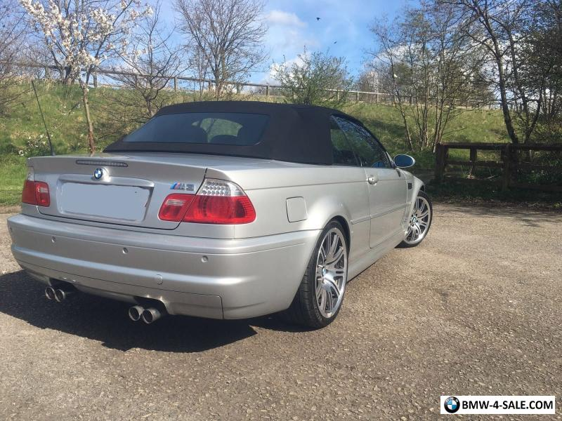 2004 Bmw M3 Convertible For Sale In United Kingdom