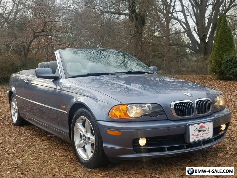 2002 bmw 3 series convertible heated seats 1 owner no accidents wow for sale in united states. Black Bedroom Furniture Sets. Home Design Ideas