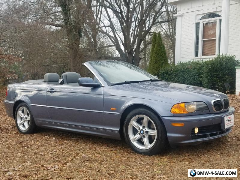 2002 Bmw 3 Series Convertible Heated Seats 1 Owner No Accidents Wow For