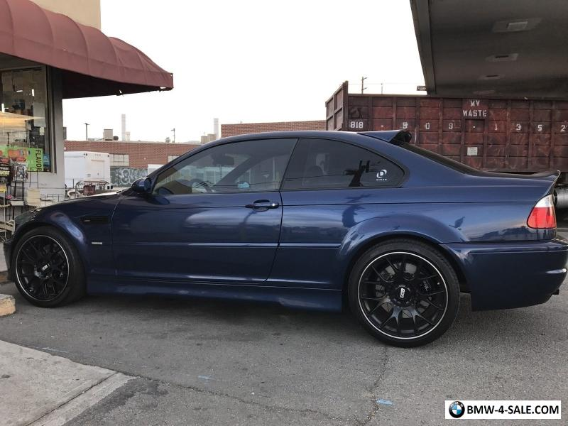 2006 Bmw M3 Base 2 Door Coupe For Sale In United States