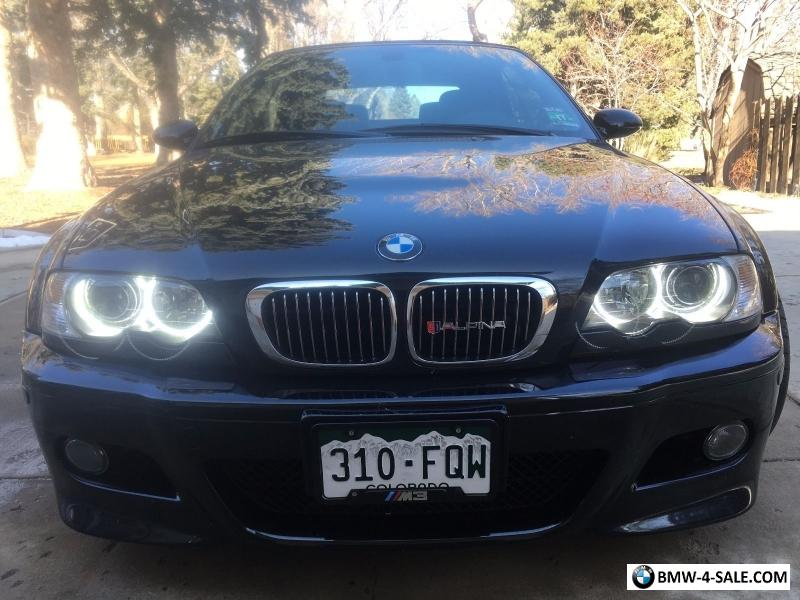 2004 bmw m3 e46 convertible smg for sale in united states. Black Bedroom Furniture Sets. Home Design Ideas
