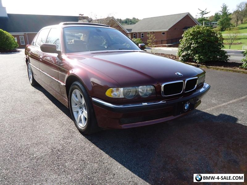 2001 bmw 7 series 740il for sale in united states. Black Bedroom Furniture Sets. Home Design Ideas