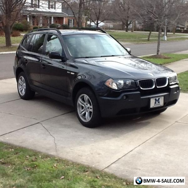 2004 BMW X3 3.0i Sport Utility 4-Door For Sale In United