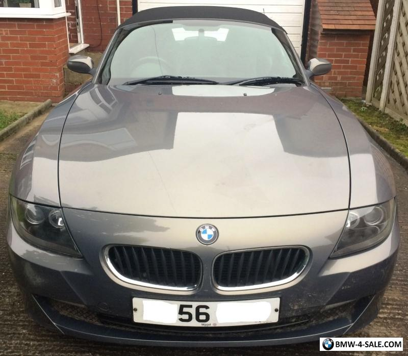 Bmw Z4 Update: 2007 Sports/Convertible Z4 For Sale In United Kingdom