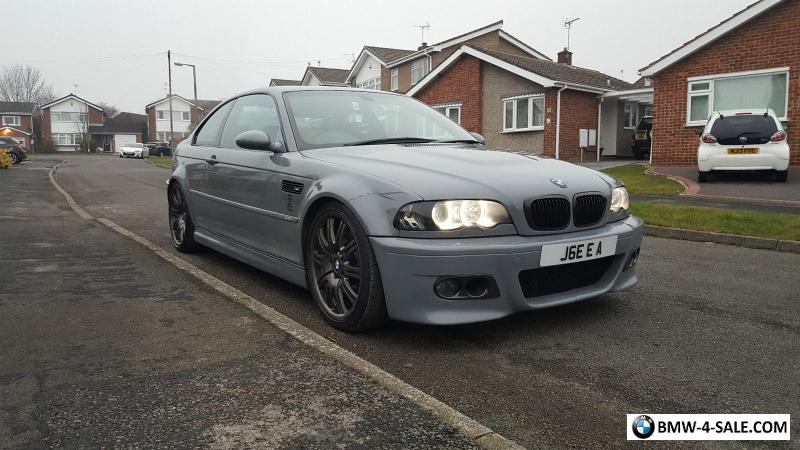 2001 Coupe M3 For Sale In United Kingdom