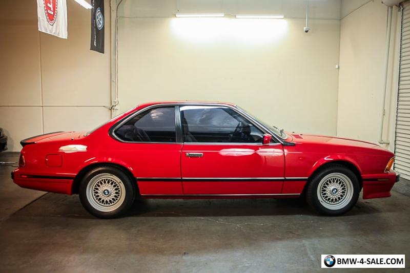 BMW M For Sale In United States - 1988 bmw m6 for sale