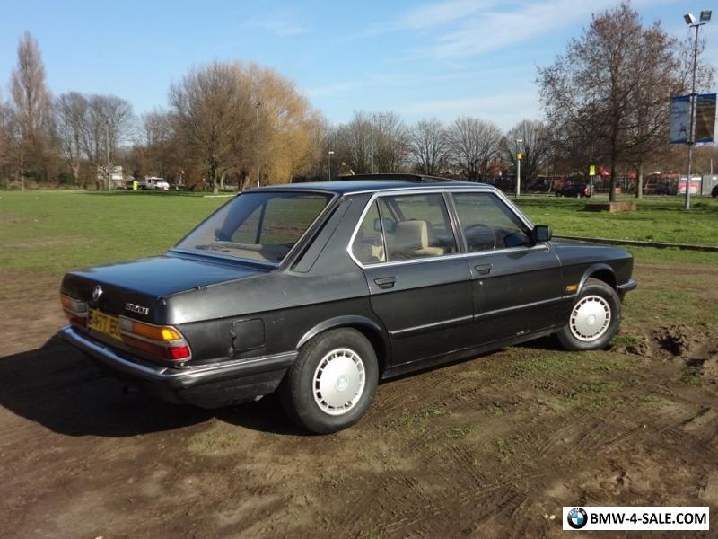 1984 Bmw 520 for Sale in United Kingdom