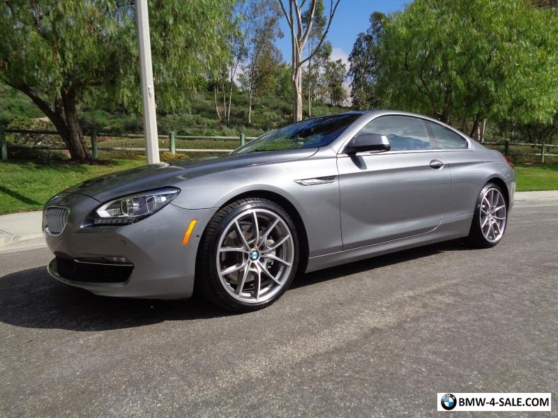 2012 Bmw 6 Series 650i For Sale In United States