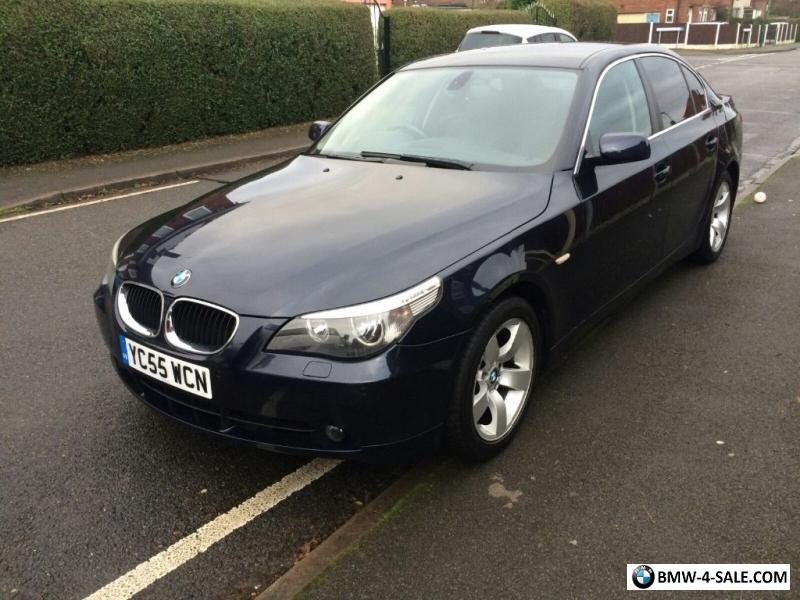 BMW 520D SE 20 TD 2 OWNER DIESEL 2005 55 For Sale