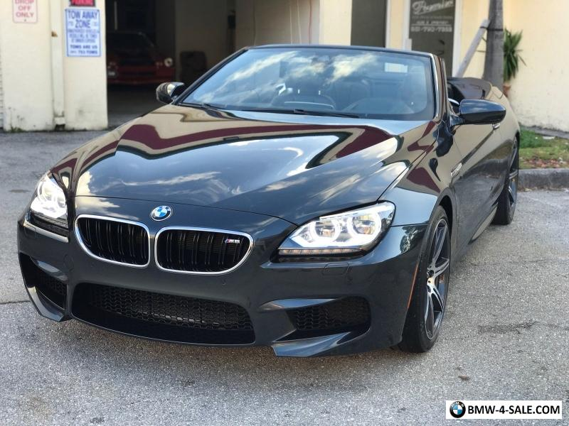 2014 Bmw M6 Rebuilt Salvage For Sale: 2014 BMW M6 Base Convertible 2-Door For Sale In United States
