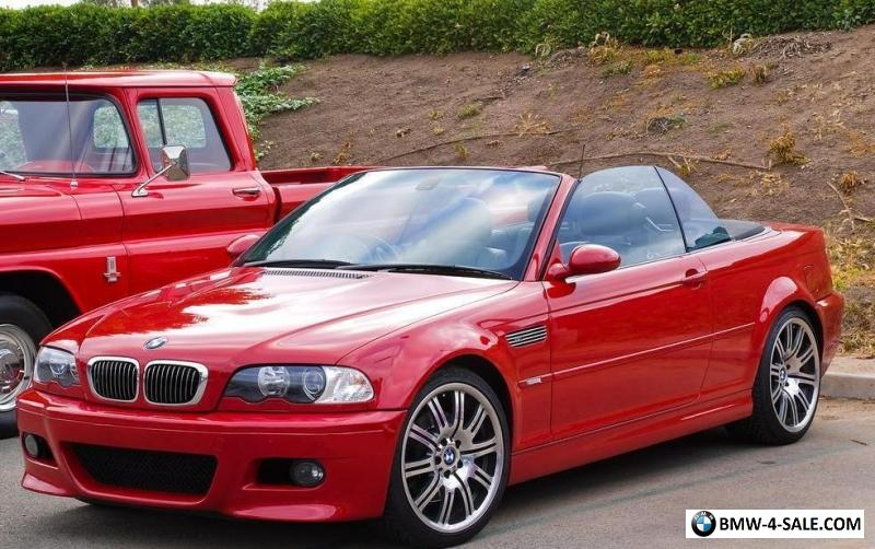 2005 05 Bmw E46 M3 3 2 Imola Red Individual 6 Spd Manual 69k Miles