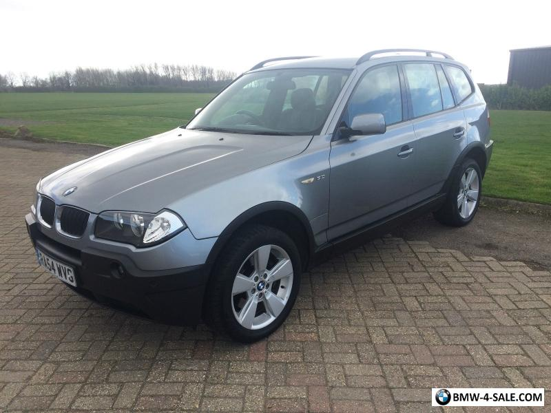 ... 2004 BMW X3 SPORT GREY 3.0 AUTO AUTOMATIC E83 4X4 LOW MILEAGE For Sale  I