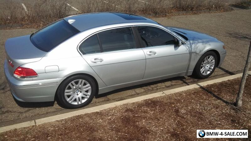 2002 BMW 7-Series for Sale in United States