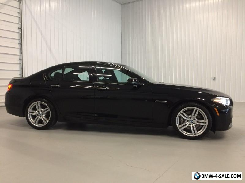 2014 BMW 5 Series M SPORT 535I X DRIVE BLK