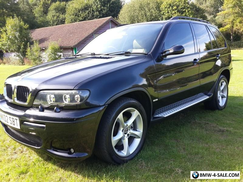2002 four wheel drive x5 for sale in united kingdom. Black Bedroom Furniture Sets. Home Design Ideas