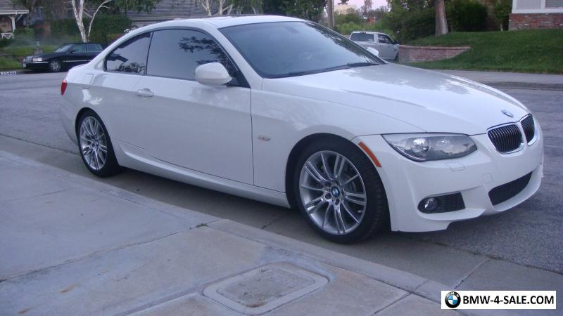 bmw 2013 white. 2013 bmw 3series 335i coupe m sport package for sale bmw white