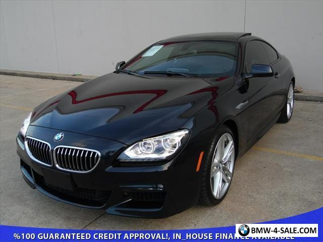 2017 Bmw 6 Series Base Coupe 2 Door For
