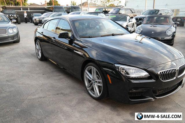 2014 bmw 6 series 640i gran coupe for sale in united states. Black Bedroom Furniture Sets. Home Design Ideas
