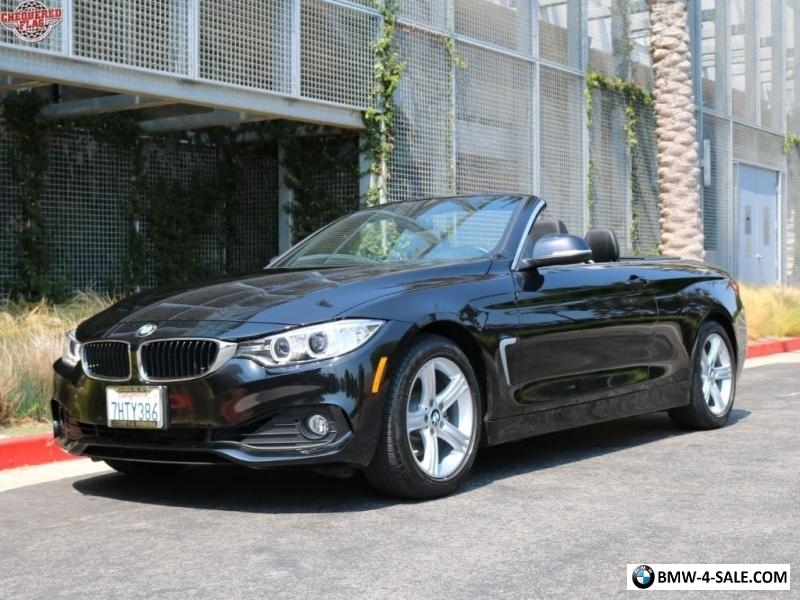 BMW 428I Convertible >> 2014 Bmw 4 Series 428i Convertible For Sale In United States