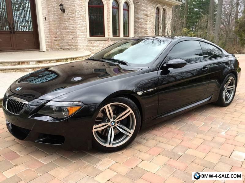 2006 bmw m6 2dr coupe w heads up display carbon fiber. Black Bedroom Furniture Sets. Home Design Ideas