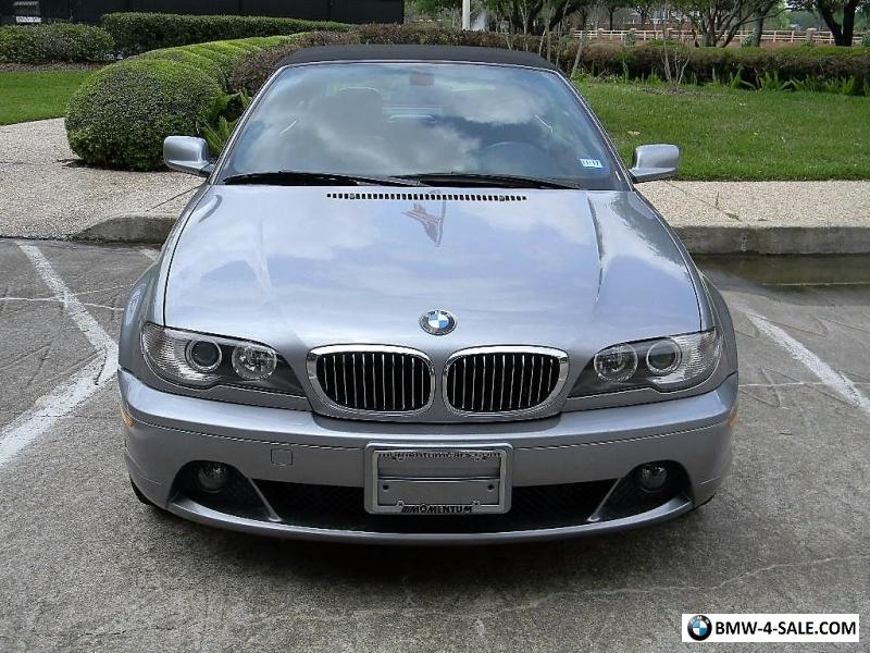 2004 bmw 3 series base convertible 2 door for sale in united states. Black Bedroom Furniture Sets. Home Design Ideas