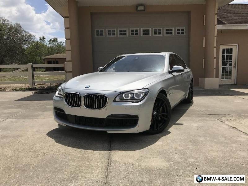 Bmw 750i 2015 >> 2015 BMW 7-Series M Sport for Sale in United States