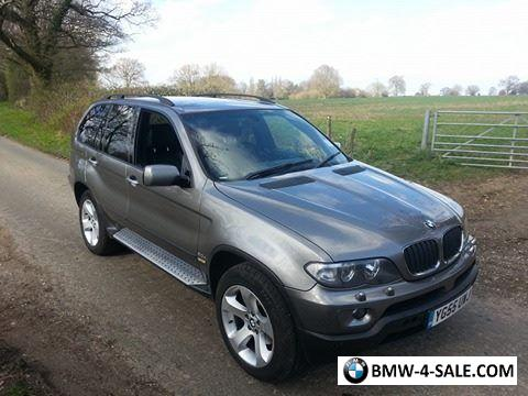 2005 four wheel drive x5 for sale in united kingdom. Black Bedroom Furniture Sets. Home Design Ideas