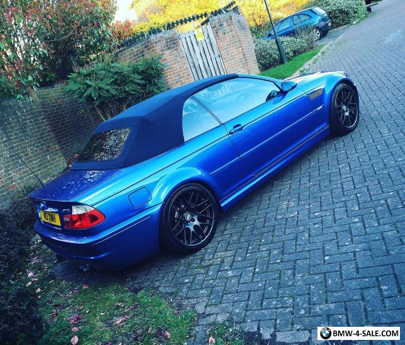 2004 Bmw M3: 2004 Sports/Convertible M3 For Sale In United Kingdom