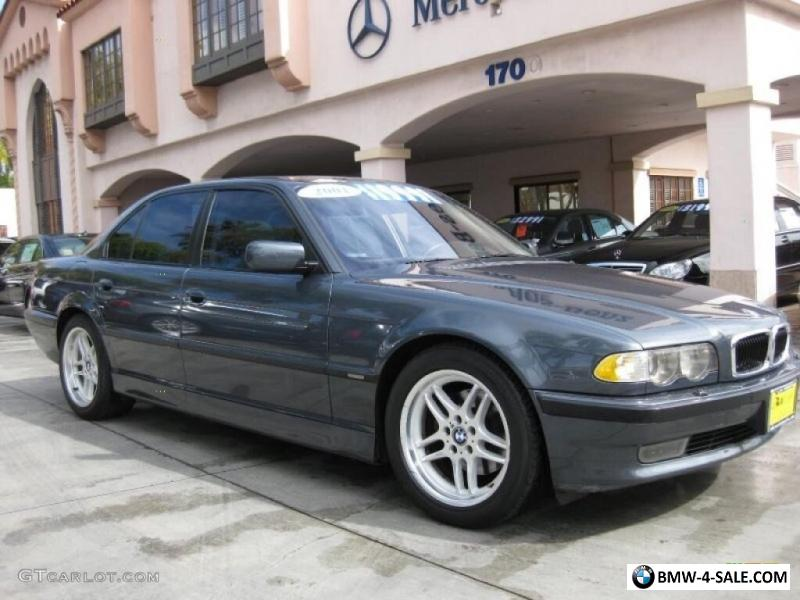2001 Bmw 7 Series M Sport Package For