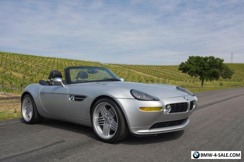 2000 Bmw Z8 Base Convertible 2 Door For Sale In United States