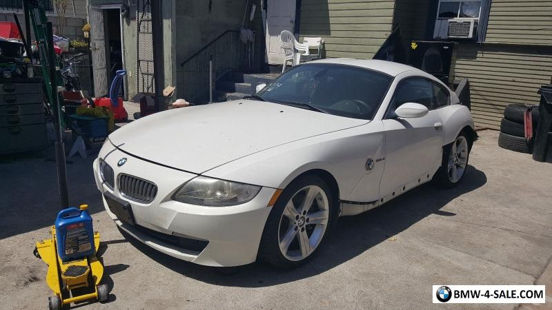 2007 Bmw Z4 Coupe 3 0si For Sale In United States