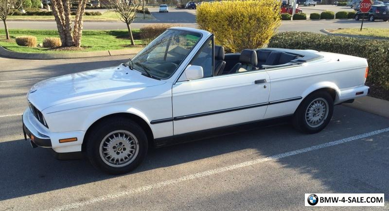 1989 BMW 3Series Base Convertible 2Door for Sale in United States