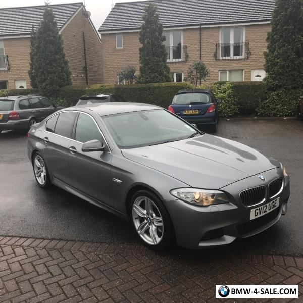 2012 Bmw 5 Series For Sale In United Kingdom