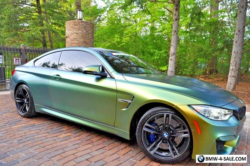 2016 bmw m4 competition package loaded for sale in united states