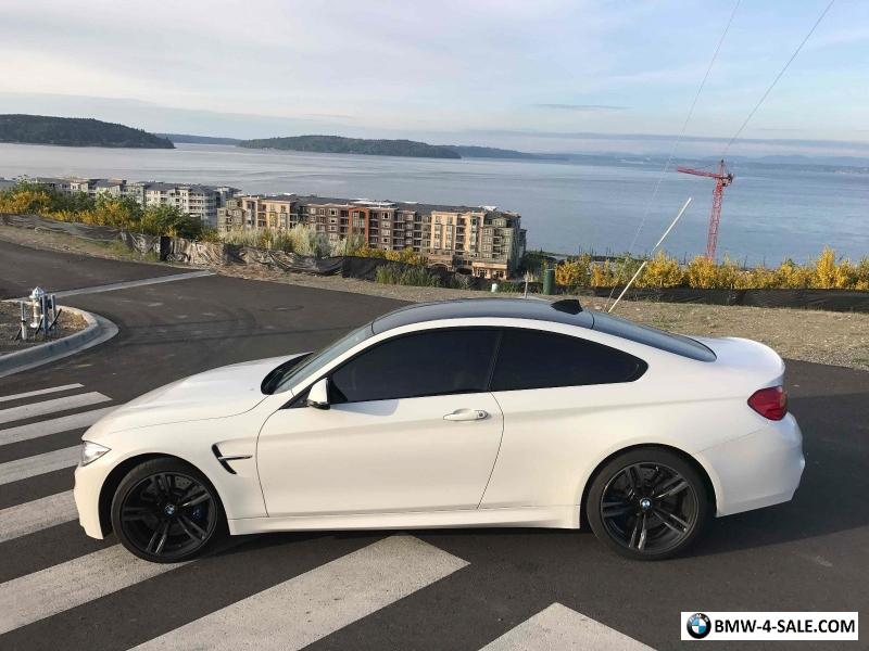 2016 bmw m4 factory warranty one owner new tires serviced for sale in united states. Black Bedroom Furniture Sets. Home Design Ideas