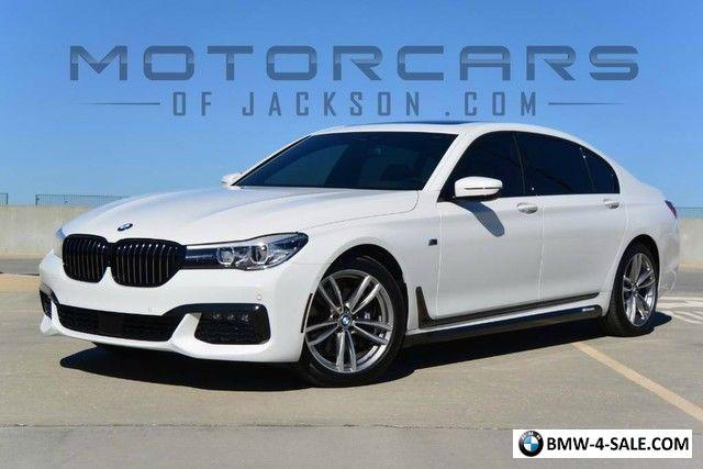 2016 BMW 7 Series 740i M Sport LWB Long Wheel Base Luxury