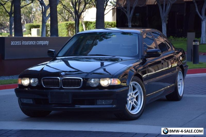2001 BMW 7-Series 740I for Sale in United States