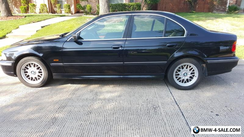 2000 Bmw 5 Series Black For