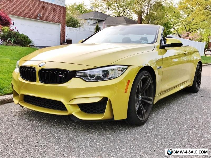 2015 bmw m4 convertible manual for sale in united states