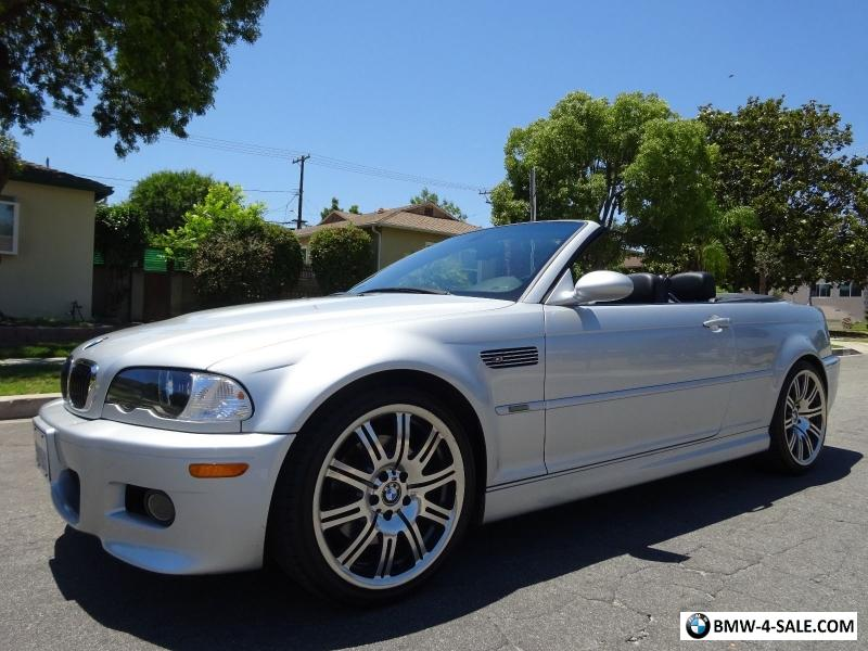 2005 Bmw M3 Convertible For