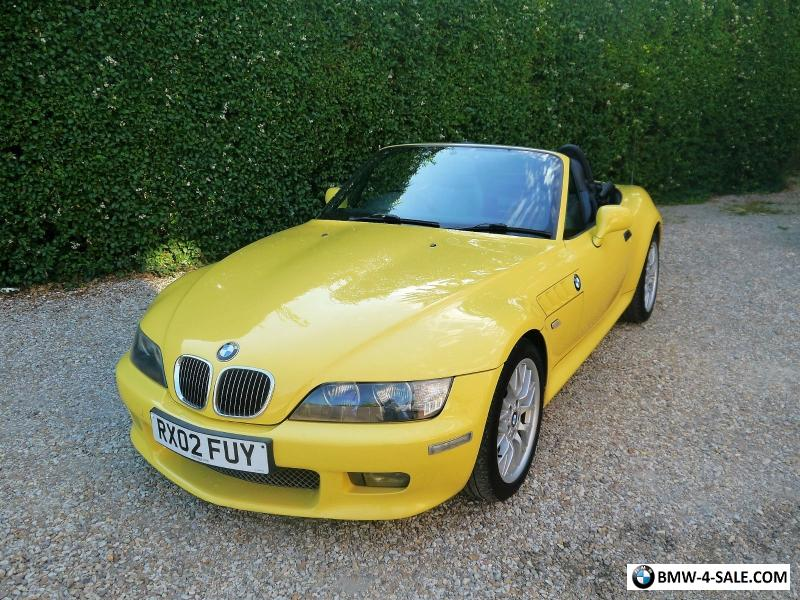 2002 Sports Convertible Z3 For Sale In United Kingdom