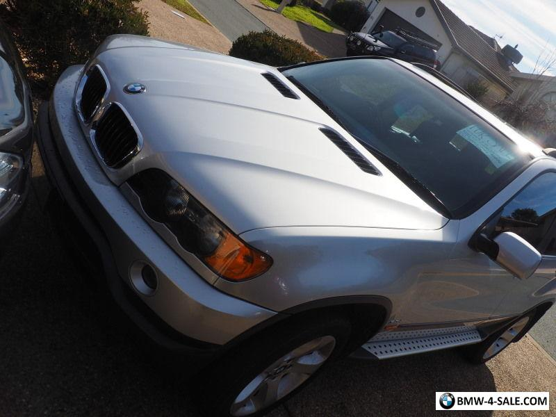 Bmw X E L Td Silver Immaculate Condition