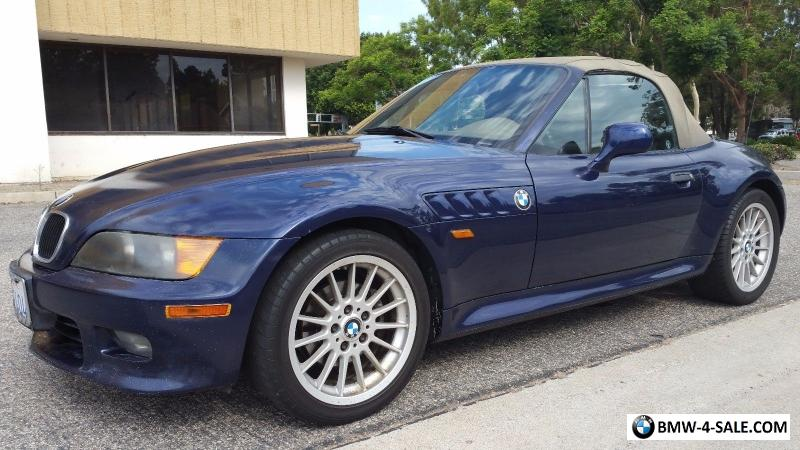1997 Bmw Z3 2 8l I6 Roadster For Sale In United States