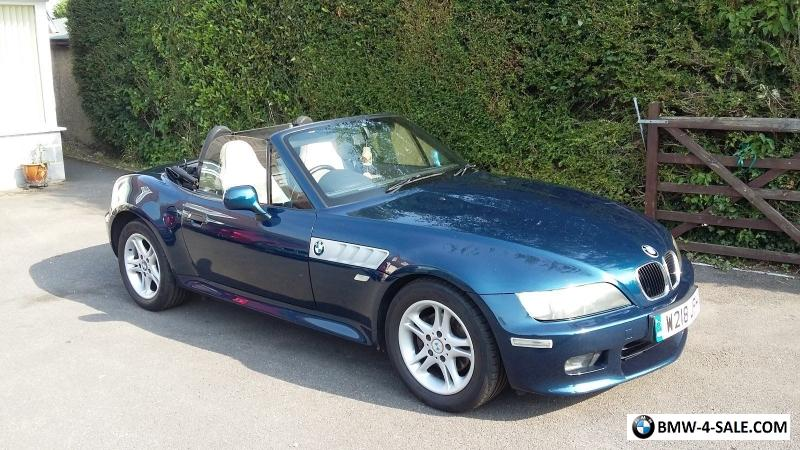 2000 Sports Convertible Z3 For Sale In United Kingdom