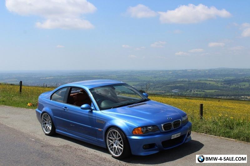 2002 Coupe M3 for Sale in United Kingdom