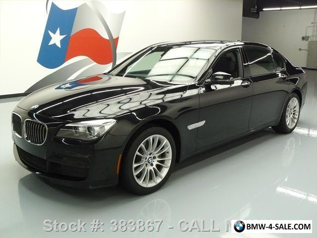 2015 bmw 7 series 740ld xdrive awd diesel m sport sunroof nav for sale in united states. Black Bedroom Furniture Sets. Home Design Ideas