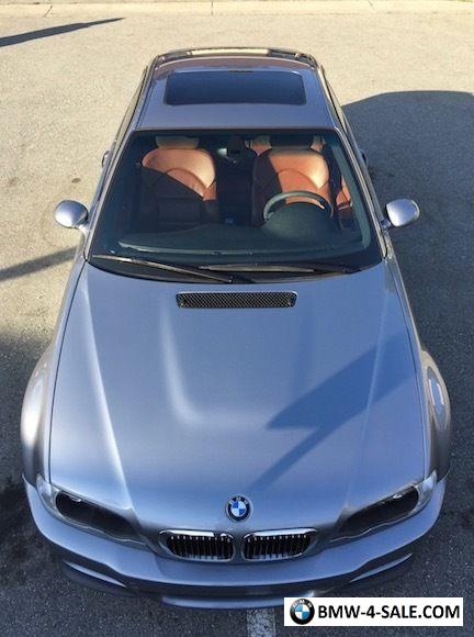 2006 BMW M3 ZCP Competition Package for Sale in United States