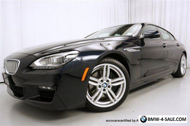 2014 bmw 6 series 650i xdrive gran coupe for sale in united states. Black Bedroom Furniture Sets. Home Design Ideas