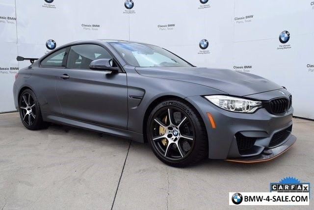 2016 bmw m4 gts for sale in united states. Black Bedroom Furniture Sets. Home Design Ideas